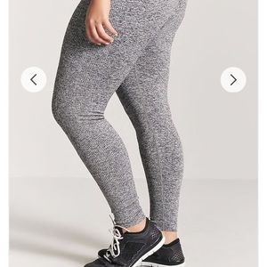 00c1e6492d7 Forever 21 Pants - Plus Size Active Marled Leggings
